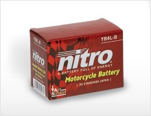 Nitro Batteries packaging