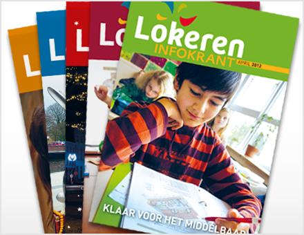 Infokrant Lokeren – monthly magazine