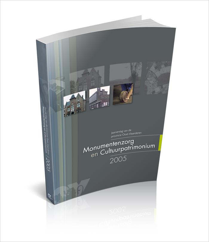 Jaarverslag Monumentenzorg ontwerp cover