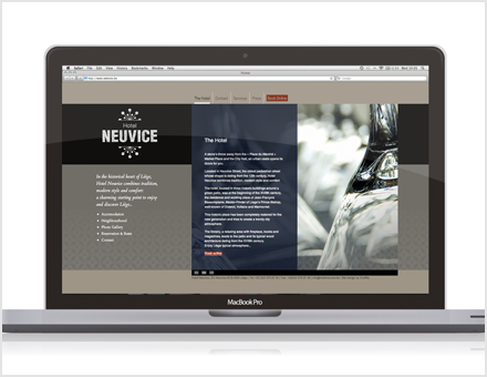 Website Hotel Neuvice