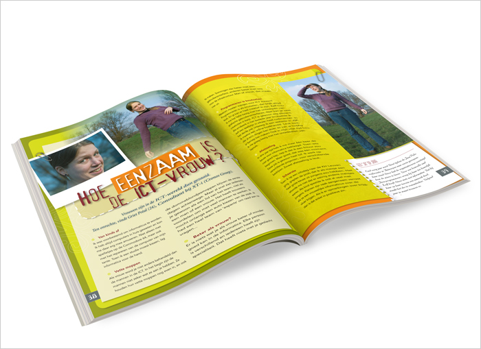Go4IT magazine design