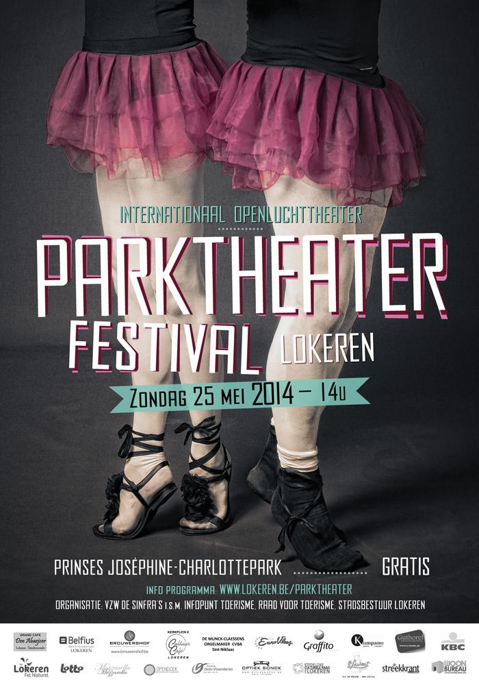 Poster Parktheaterfestival 2014