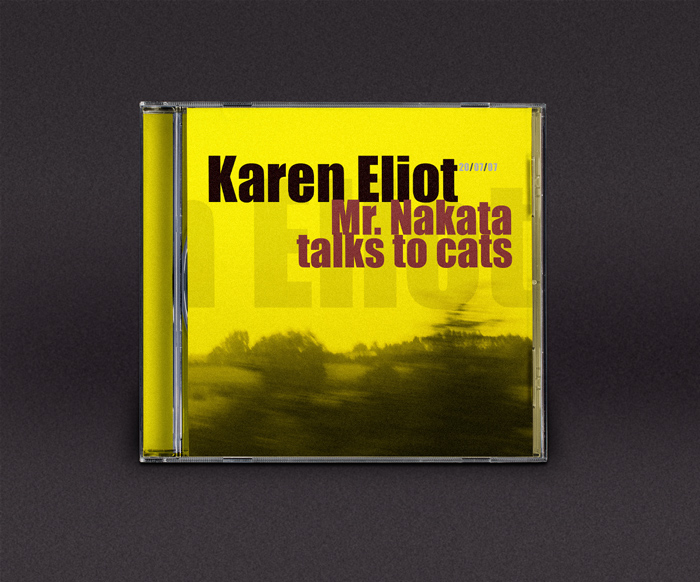 CD artwork - front - Karen Eliot - Mr. Nakata… - ©Bert Vanden Berghe 2007