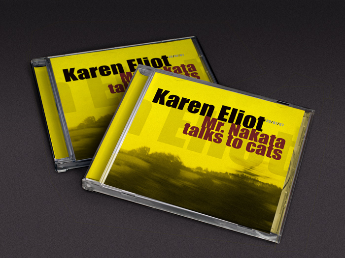 CD artwork - Karen Eliot - Mr. Nakata… - ©Bert Vanden Berghe 2007