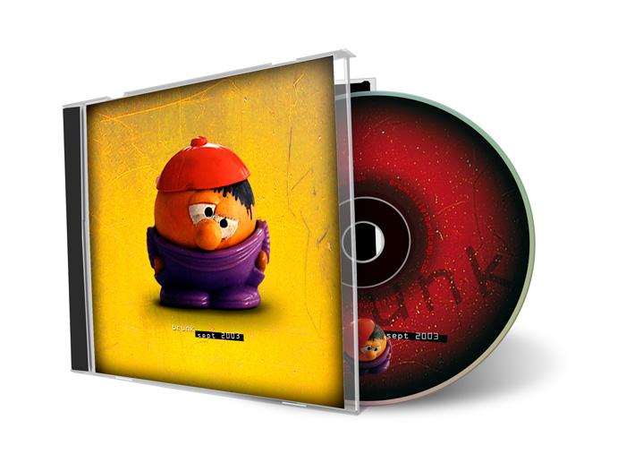 CD artwork brunk - sept 2003 -©Bert Vanden Berghe 2003