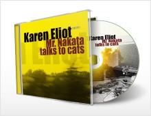 CD artwork: Karen Eliot – Mr. Nakata talks to cats