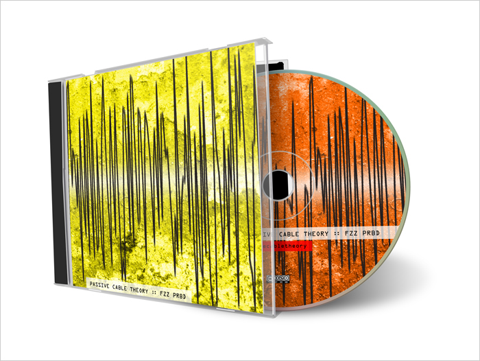 CD artwork Passive Cable Theory - FZZ PRBD ©Bert Vanden Berghe