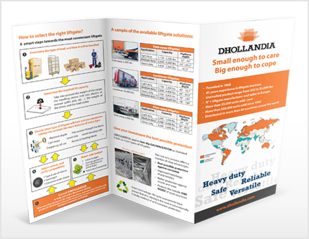 Dhollandia folders & brochures