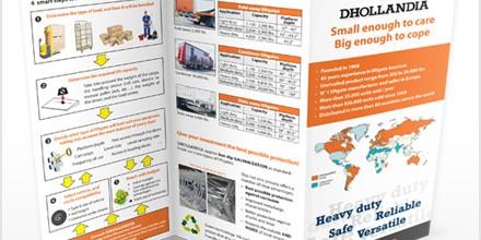 Dhollandia folders & brochures