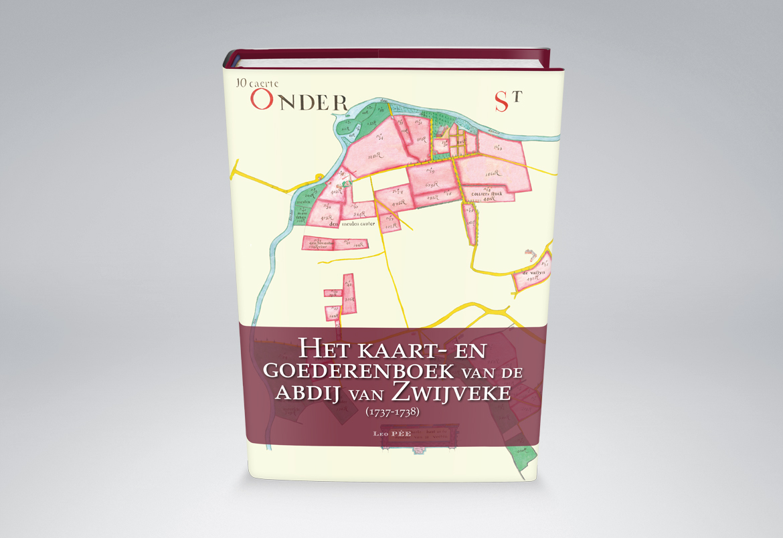 Kaart- en Goederenboek Abdij Zwijveke design Bert Vanden Berghe - Graffito nv
