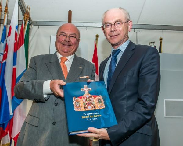 Internationale tentoonstelling  De Erfenis van Karel de Grote (814-2014)