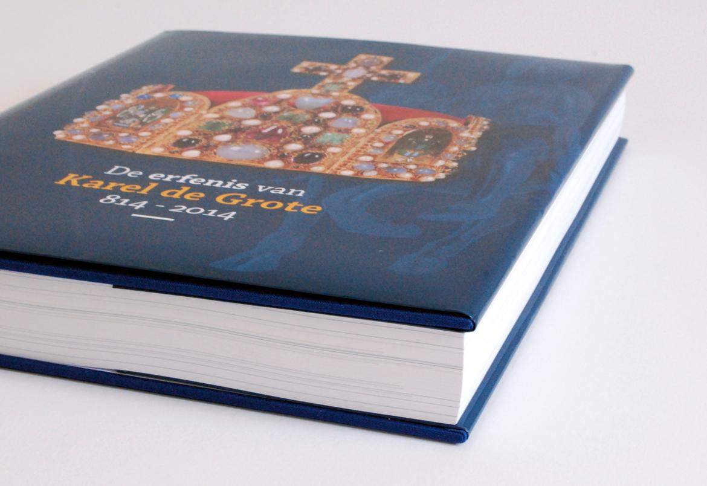 De Erfenis van Karel De Grote 814-2014 - design Bert Vanden Berghe - Graffito nv
