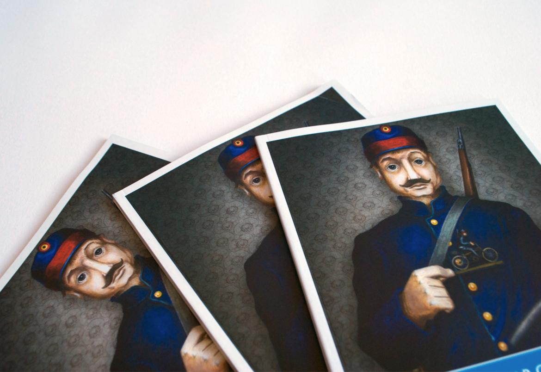 Bert Vanden Berghe - ontwerp + opmaak brochures voor Toerisme Scheldeland