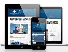 Van Moer Group responsive website