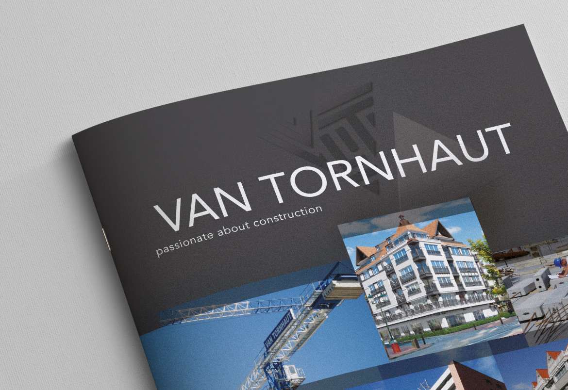 Van Tornhaut - Logo + housestyle by Bert Vanden Berghe for Graffito nv - brochure detail