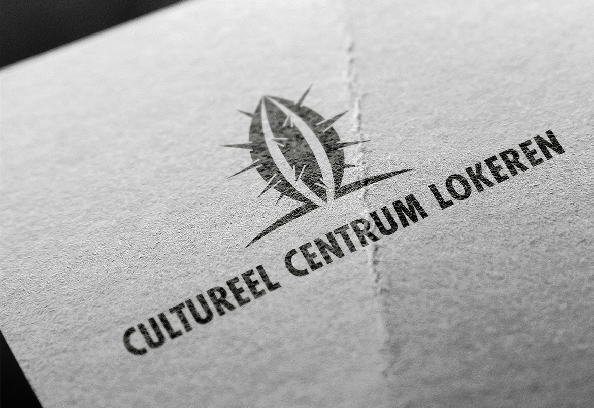 Cultureel Centrum Lokeren - logo & print design by Bert Vanden Berghe for Graffito nv