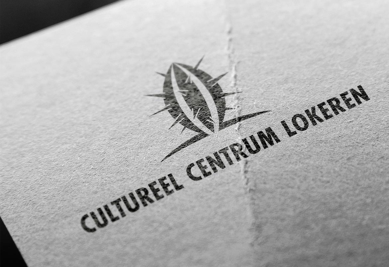 Cultureel Centrum Lokeren - logo & print design by Bert Vanden Berghe for Graffito nv