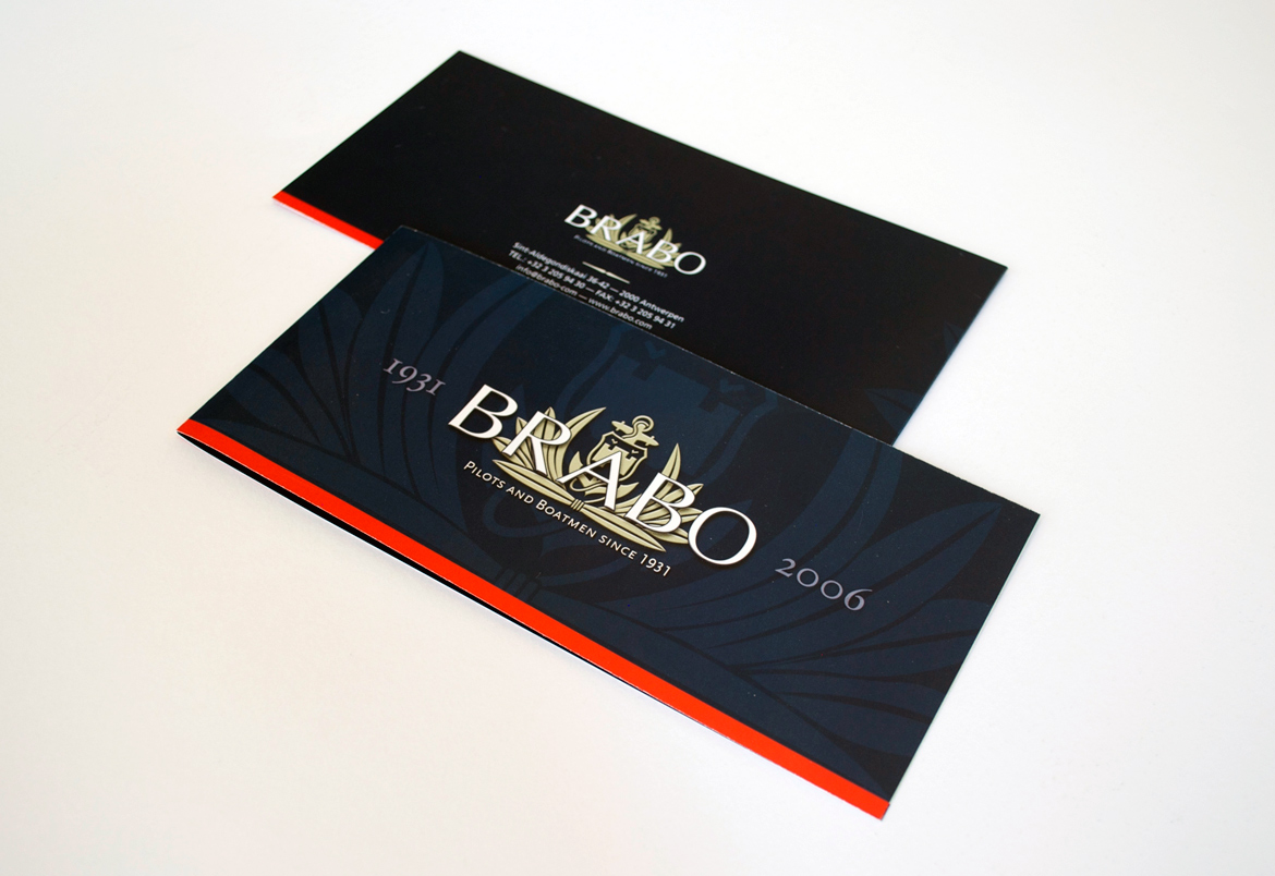 Brabo logo + housestyle + design for website and print by Bert Vanden Berghe for Graffito nv