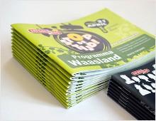 Erfgoedcel Waasland brochures & folders