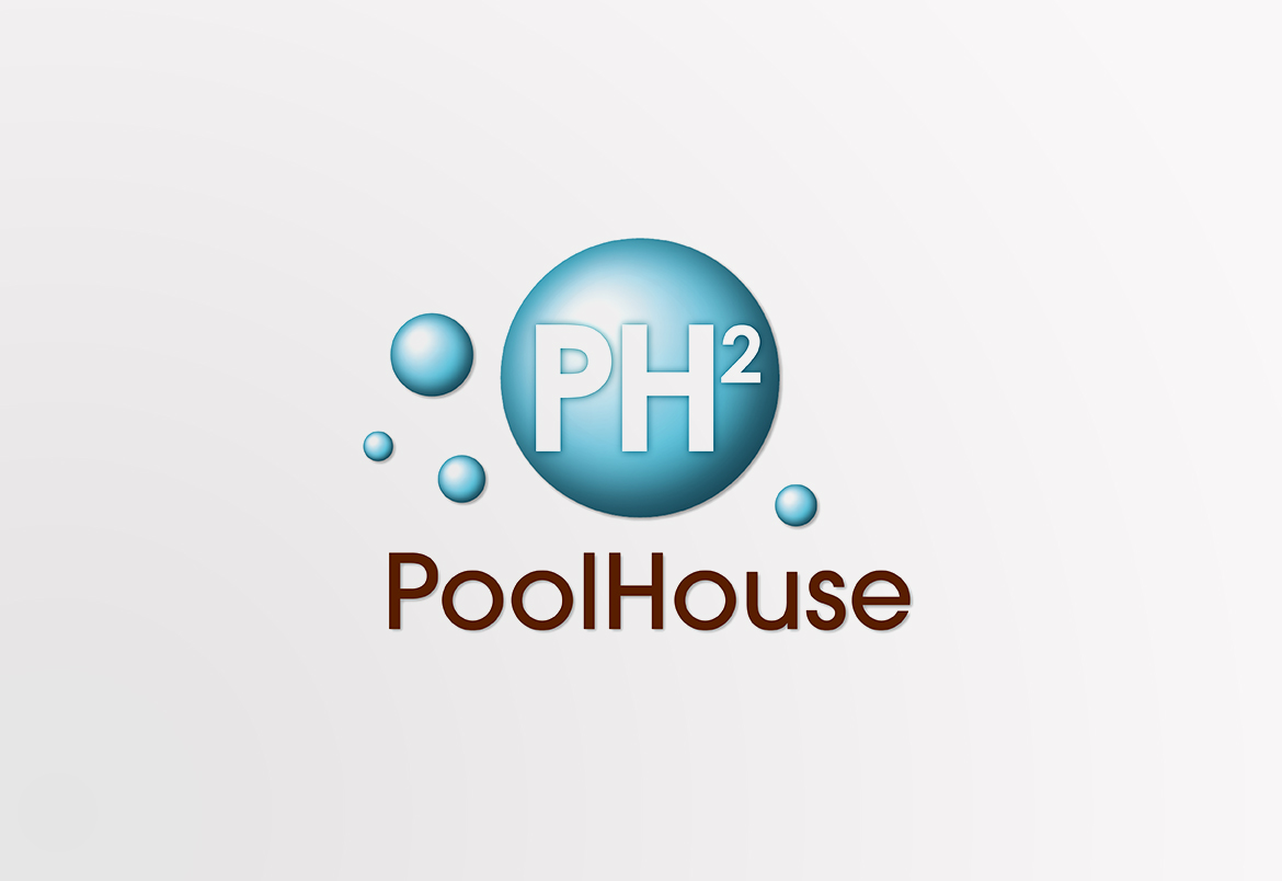Poolhouse - logo & print design by Bert Vanden Berghe for Graffito nv