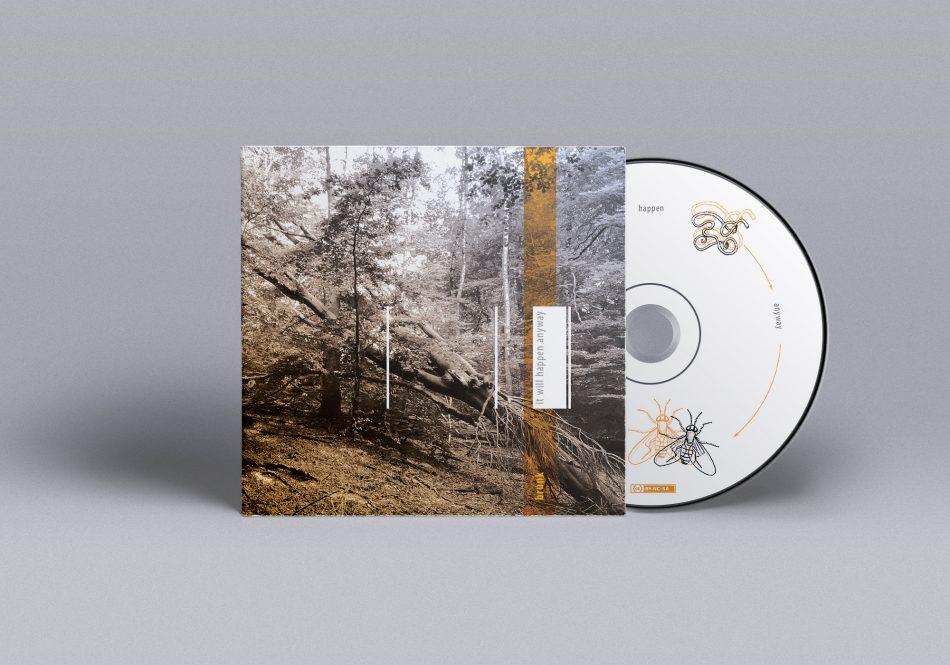 brunk - it will happen anyway CD artwork ©Bert Vanden Berghe 2017
